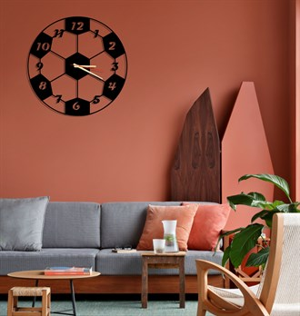 Ball Metal Wall Clock