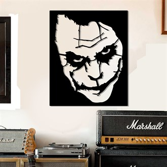Joker Sticker Metal Dekor